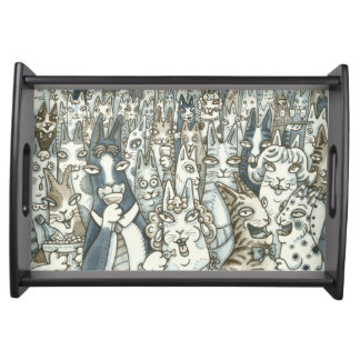 Hiss N' Fitz CAT PARTY SERVING TRAY