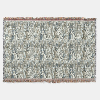 Hiss N' Fitz Cats LIFE'S A PARTY THROW BLANKET