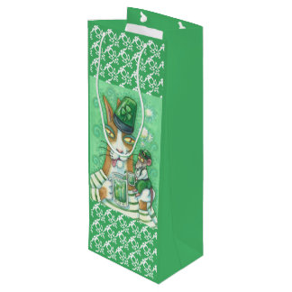 Hiss N' Fitz IRISH CAT & RAT GIFT BAG - WINE