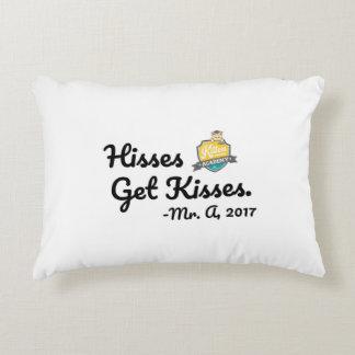 Hisses Get Kisses Pillow