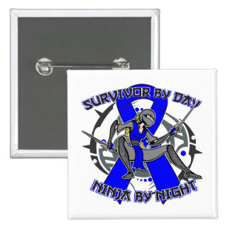 Histiocytosis By Day Ninja By Night 15 Cm Square Badge