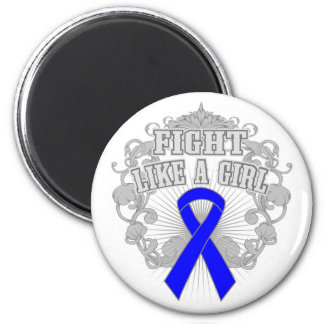 Histiocytosis Fight Like A Girl Fleurish Refrigerator Magnets