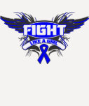 Histiocytosis Fight Like a Girl Wings.png Tee Shirt