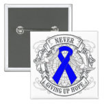 Histiocytosis Never Giving Up Hope Pinback Buttons