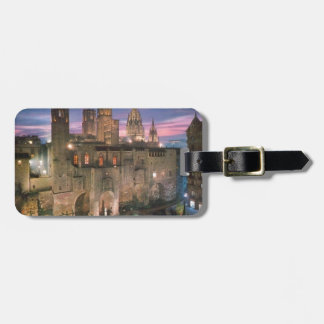 historia --barcelona--barrio--gotico  Angie Luggage Tag