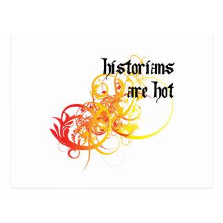 Historians Are Hot Postcard