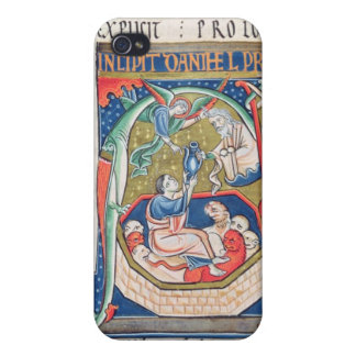 Historiated initial 'A' Depicting Daniel iPhone 4 Cover