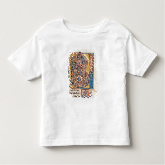 Historiated initial 'B' depicting King David Toddler T-Shirt