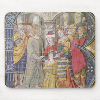 Historiated initial 'B' Mouse Pad
