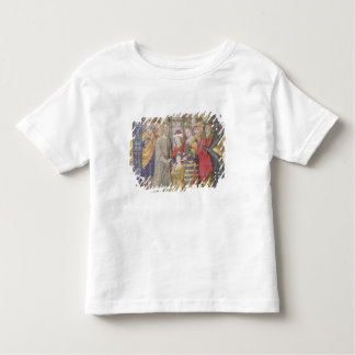 Historiated initial 'B' Tees