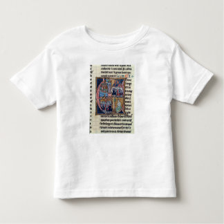Historiated initial 'C' depicting Conrad III Toddler T-Shirt