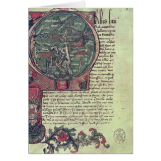 Historiated initial card
