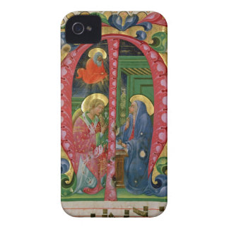 Historiated initial 'M' depicting The Annunciation Case-Mate iPhone 4 Cases