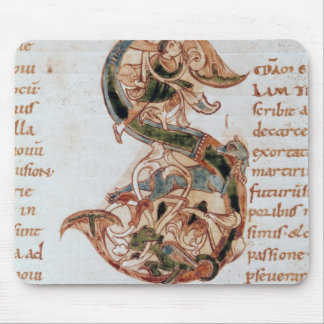 Historiated initial 'S' Mouse Mat