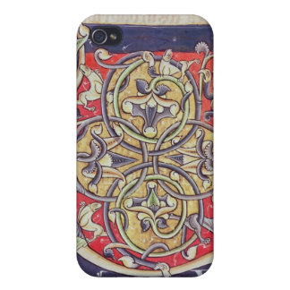 Historiated initial 'U' iPhone 4 Cover