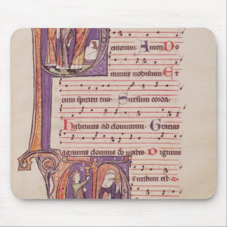 Historiated initials 'P' Mouse Mat