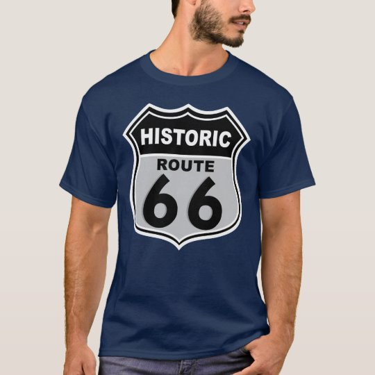 Historic 66 Mens Dark T-Shirt