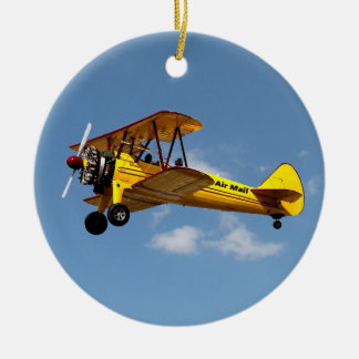 Historic Air Mail Service Centennial Christmas Ornament