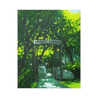 Historic ASIJ Gate Canvas Print