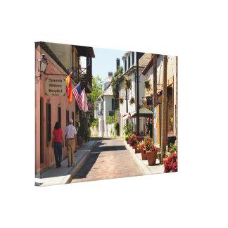 Historic Aviles Street Canvas Print