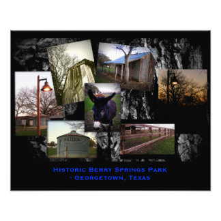 Historic Berry Springs Park Photographic Print