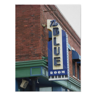 Historic Blue Room - Kansas City Poster