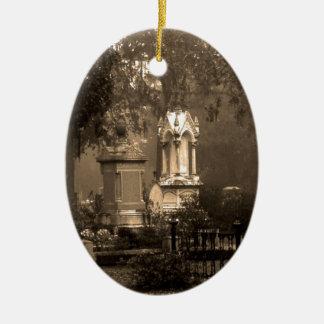 Historic Bonaventure Cemetery Ceramic Oval Decoration