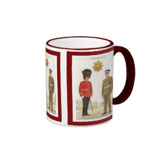 Historic British Army Uniforms,, Coldstream Guards Ringer Mug