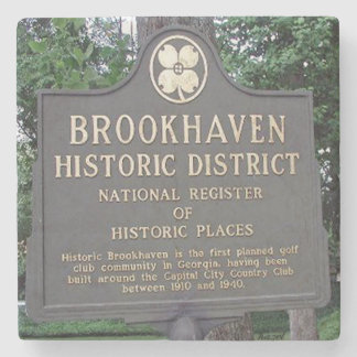 Historic Brookhaven, Atlanta Marble Coasters