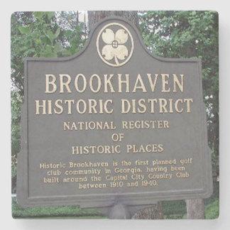 Historic Brookhaven, Atlanta Marble Coasters Stone Coaster