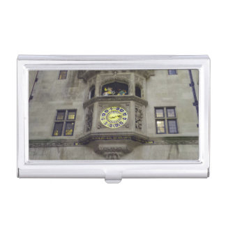 Historic Building Front View Business Card Holder