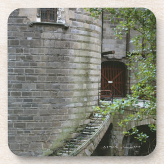 Historic building in Brittany, France Coaster