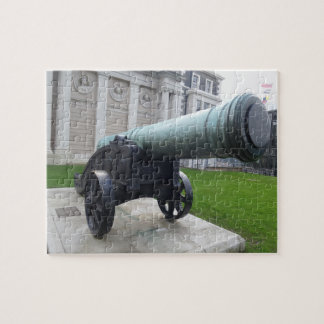 Historic Cannon Jigsaw Puzzle