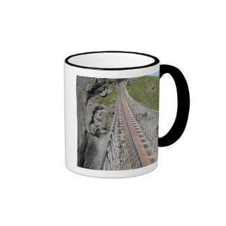 Historic Carrick-a-rede rope bridge, Northern Coffee Mug