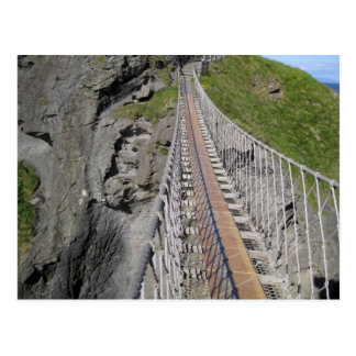 Historic Carrick-a-rede rope bridge, Northern Postcards