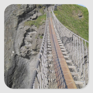 Historic Carrick-a-rede rope bridge, Northern Square Sticker