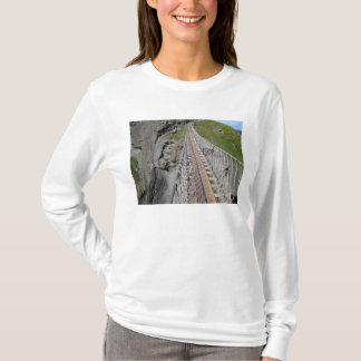 Historic Carrick-a-rede rope bridge, Northern T-Shirt