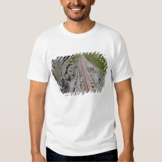 Historic Carrick-a-rede rope bridge, Northern Tee Shirts