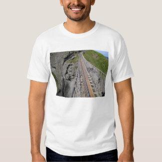Historic Carrick-a-rede rope bridge, Northern Tshirts