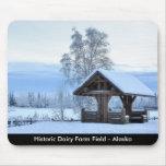 Historic Dairy Farm Field - Alaska Mouse Pads