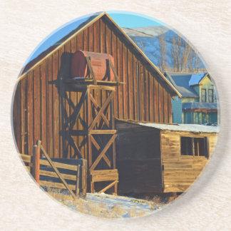 Historic Dalles Mt, Ranch Beverage Coasters