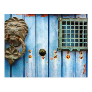 Historic Door Knocker Postcard