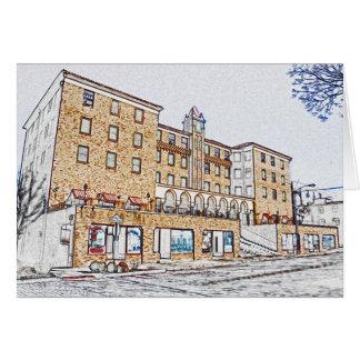 Historic Downtown Rogers AR III Card