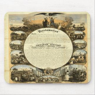 Historic Emancipation mousepad