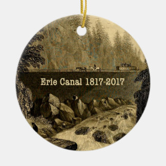 Historic Erie Canal Bicentennial Years Christmas Ornament
