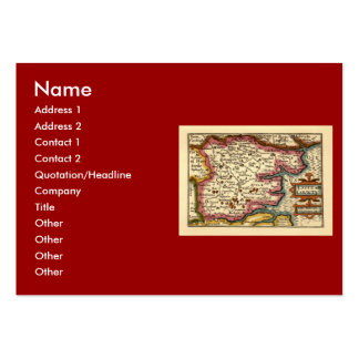 Historic Essex County Map, England Pack Of Chubby Business Cards