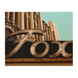 Historic Fox Theater Sign