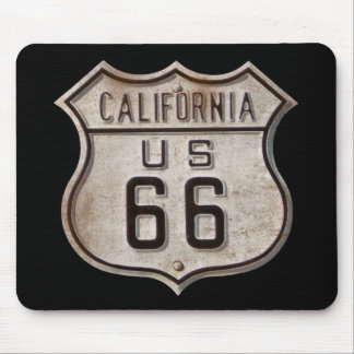 Historic Highway Road Sign Mouse Mat