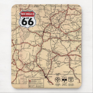 Historic Highway Road Sign Mousemat
