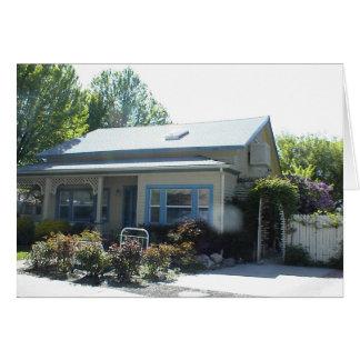 Historic Home in Yreka, California Greeting Card